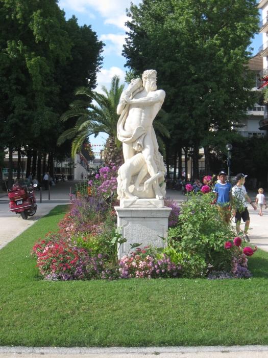 Le boulevard des Pyrénées.